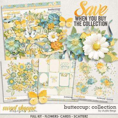 Buttercup: COLLECTION & *FWP* by Studio Flergs