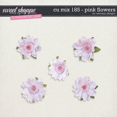 CU Mix 185 - flowers by WendyP Designs