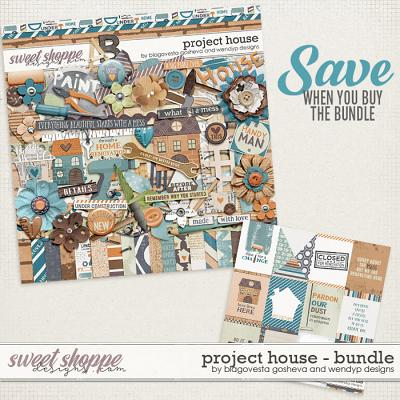 Project House {Bundle} by Blagovesta Gosheva & WendyP Designs