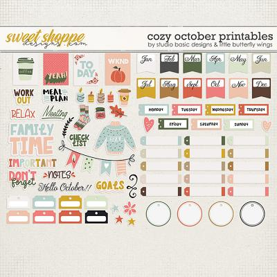 Cozy October Printables by Studio Basic and Little Butterfly Wings