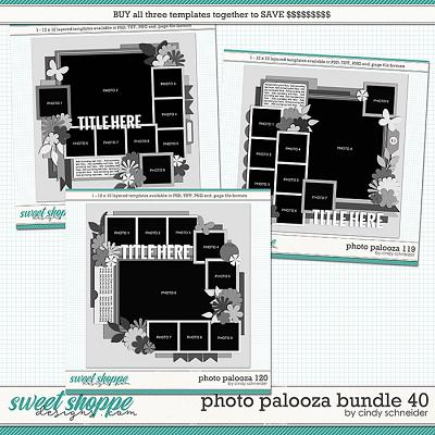 Cindy's Layered Templates - Photo Palooza Bundle 40 by Cindy Schneider