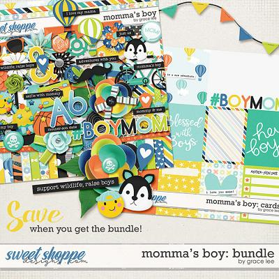 Momma's Boy: Bundle by Grace Lee