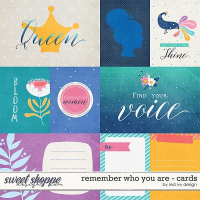 Remember Who You Are - Cards by Red Ivy Design