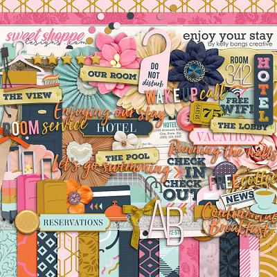 Enjoy Your Stay by Kelly Bangs Creative