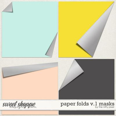 PAPER FOLDS V.1 | CLIPPING MASKS by The Nifty Pixel