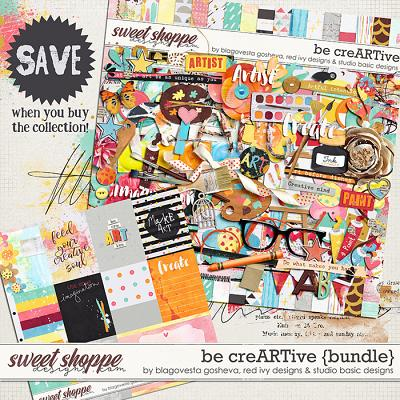 Be CreARTive Bundle by Blagovesta Gosheva, Red Ivy and Studio Basic