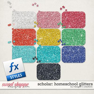 Scholar: Homeschool Glitters by Meagan's Creations