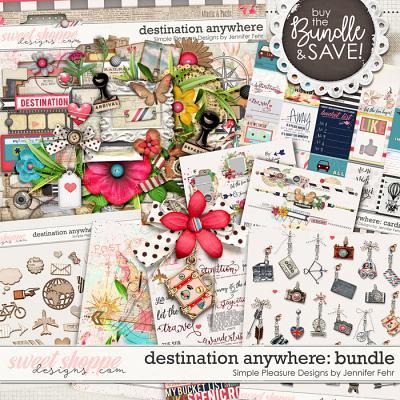 Destination Anywhere Bundle:  Simple Pleasure Designs by Jennifer Fehr