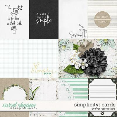 Simplicity: Cards by River Rose Designs