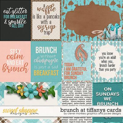 Brunch at Tiffanys Cards by JoCee Designs and Clever Monkey Graphics