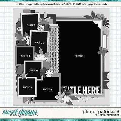 Cindy's Layered Templates - Photo Palooza 9 by Cindy Schneider