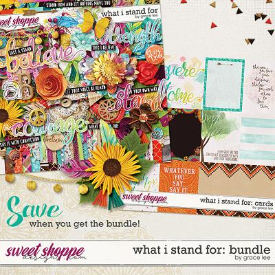 What I Stand For: Bundle by Grace Lee