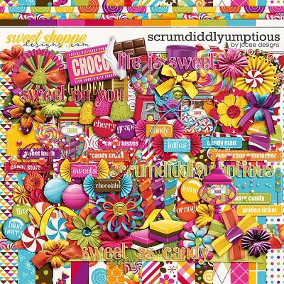 Scrumdiddlyumptious by JoCee Designs