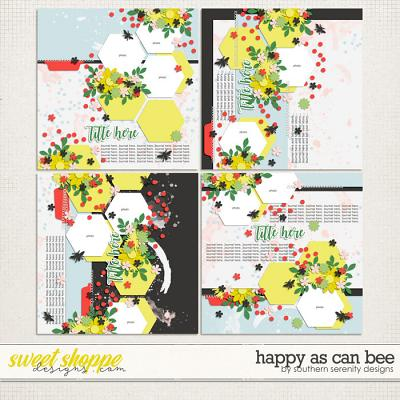 Happy As Can Bee Layered Templates by Southern Serenity Designs