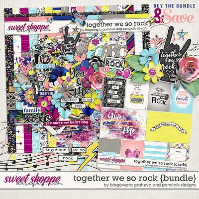 Together we so rock {bundle} by Blagovesta Gosheva & Ponytails Designs