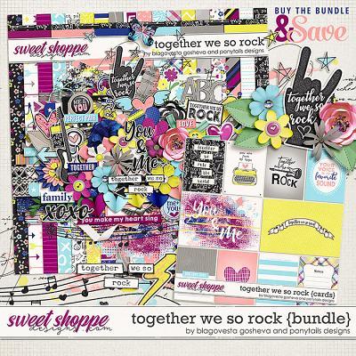 Together we so rock {bundle} by Blagovesta Gosheva & Ponytails Designs