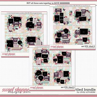 Cindy's Layered Templates - Tiled Bundle by Cindy Schneider