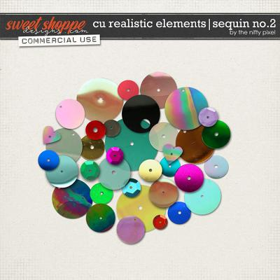 CU REALISTIC ELEMENTS | SEQUIN No.2 by The Nifty Pixel