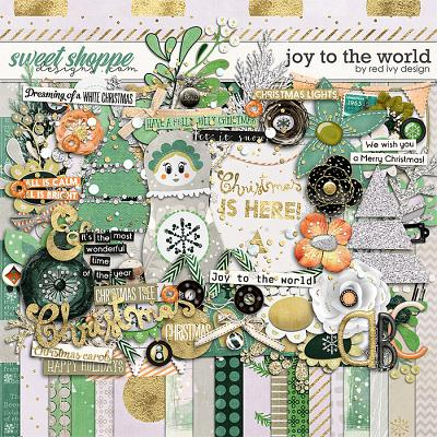 Joy To The World by Red Ivy Design