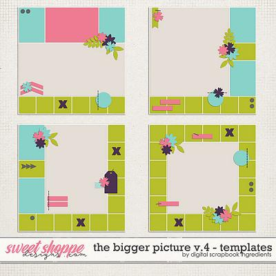 The Bigger Picture Templates Vol.4 by Digital Scrapbook Ingredients