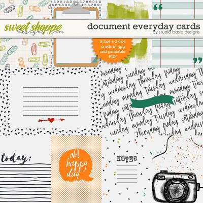 Document Everyday Cards by Studio Basic