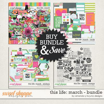 This Life: March - Bundle by Amanda Yi & Juno Designs