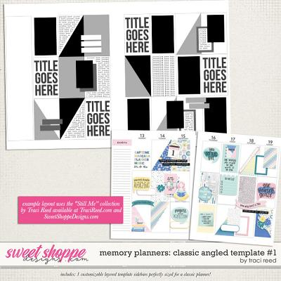 Memory Planners - Classic - Angled #1 by Traci Reed