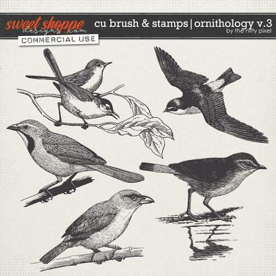CU BRUSH & STAMPS | ORNITHOLOGY V.3 by The Nifty Pixel