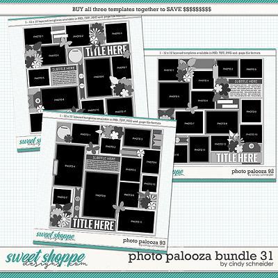 Cindy's Layered Templates - Photo Palooza Bundle 31 by Cindy Schneider