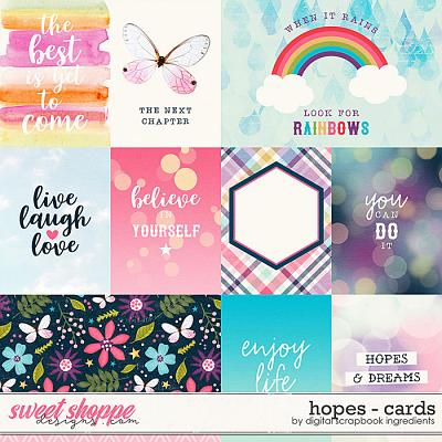 Hopes | Cards by Digital Scrapbook Ingredients