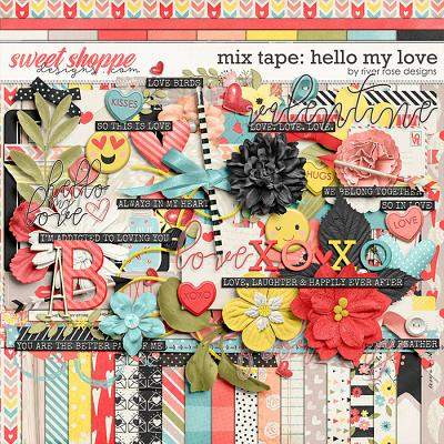 *FREE with your $10 Purchase* Mix Tape: Hello My Love by River Rose Designs