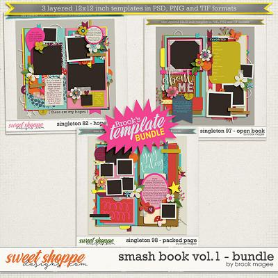 Brook's Templates - Smash Book Vol.1 - Bundle by Brook Magee