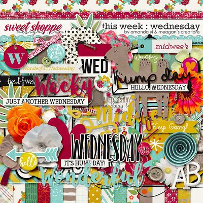 This Week: Wednesday by Amanda Yi & Meagan's Creations