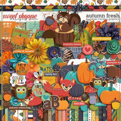 Autumn Fresh by Clever Monkey Graphics