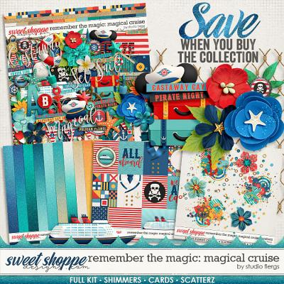 Remember the Magic: MAGICAL CRUISE- COLLECTION & *FWP* by Studio Flergs