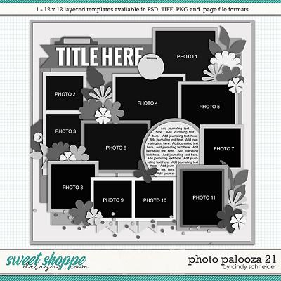 Cindy's Layered Templates - Photo Palooza 21 by Cindy Schneider