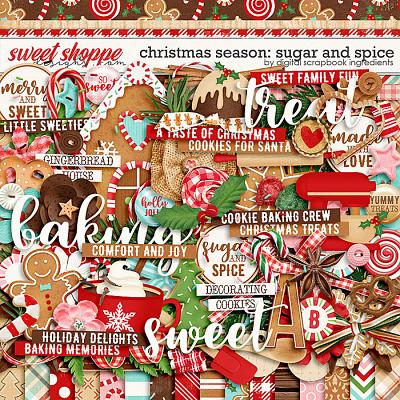 Christmas Season: Sugar and Spice by Digital Scrapbook Ingredients