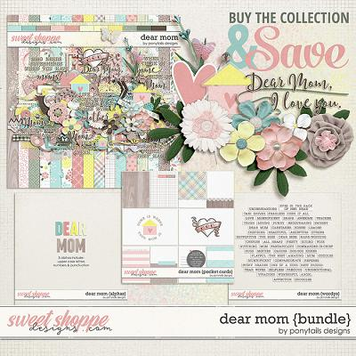 Dear Mom Bundle by Ponytails