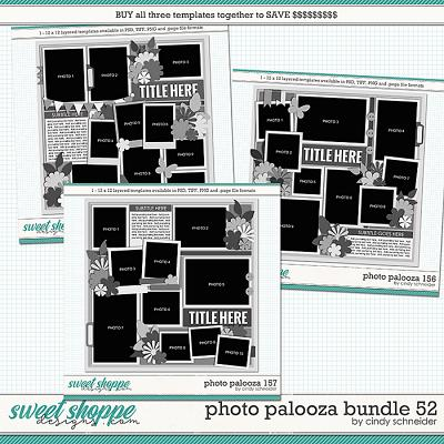 Cindy's Layered Templates - Photo Palooza Bundle 52 by Cindy Schneider
