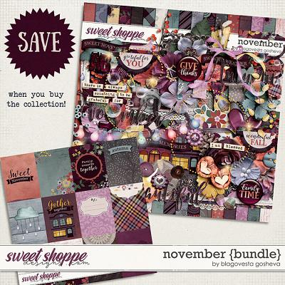 November {bundle} by Blagovesta Gosheva
