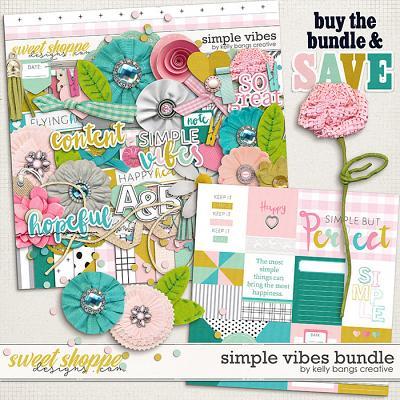 Simple Vibes Bundle by Kelly Bangs Creative