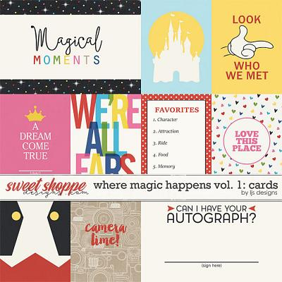 Where Magic Happens Vol 1: Cards by LJS Designs
