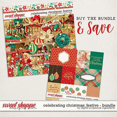 Celebrating Christmas: Festive Bundle by Digital Scrapbook Ingredients