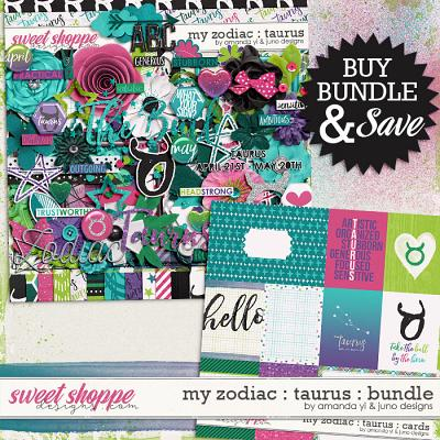 My Zodiac - Taurus: Bundle by Amanda Yi & Juno Designs