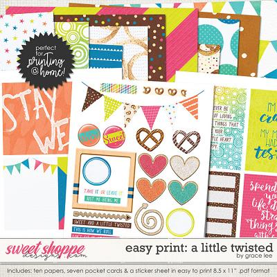 Easy Print: A Little Twisted by Grace Lee