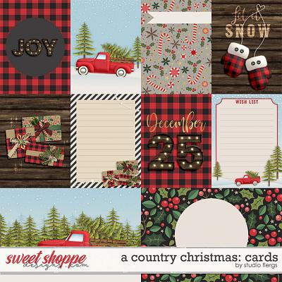 A Country Christmas: CARDS by Studio Flergs