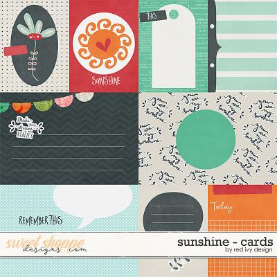 Sunshine - Cards by Red Ivy Design