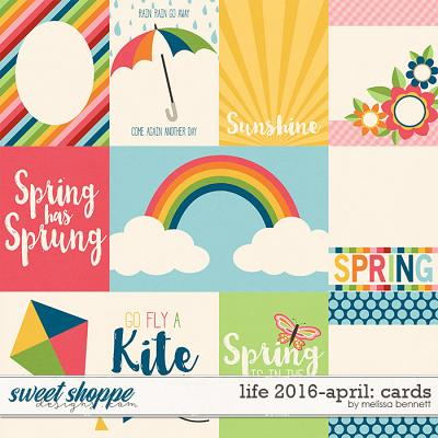 Life 2016-April: Cards by Melissa Bennett