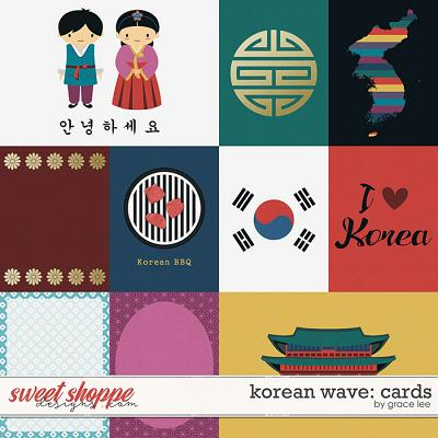 Korean Wave: Cards by Grace Lee