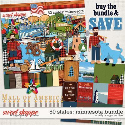 50 States: Minnesota Bundle by Kelly Bangs Creative